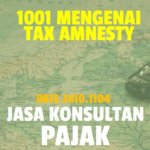 1001 Mengenai Tax Amnesty