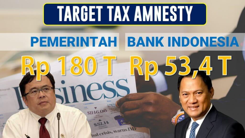 Target Tax Amnesty Indonesia