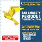 Apakah Tax Amnesty Indonesia Periode 1 Diperpanjang?