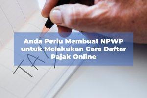 cara daftar pajak online